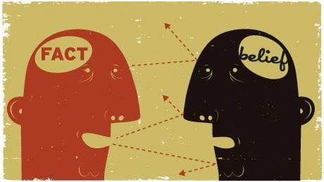 A impenetrabilidade das crenças frente aos fatos