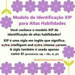 Modelo de Identificação XIP
