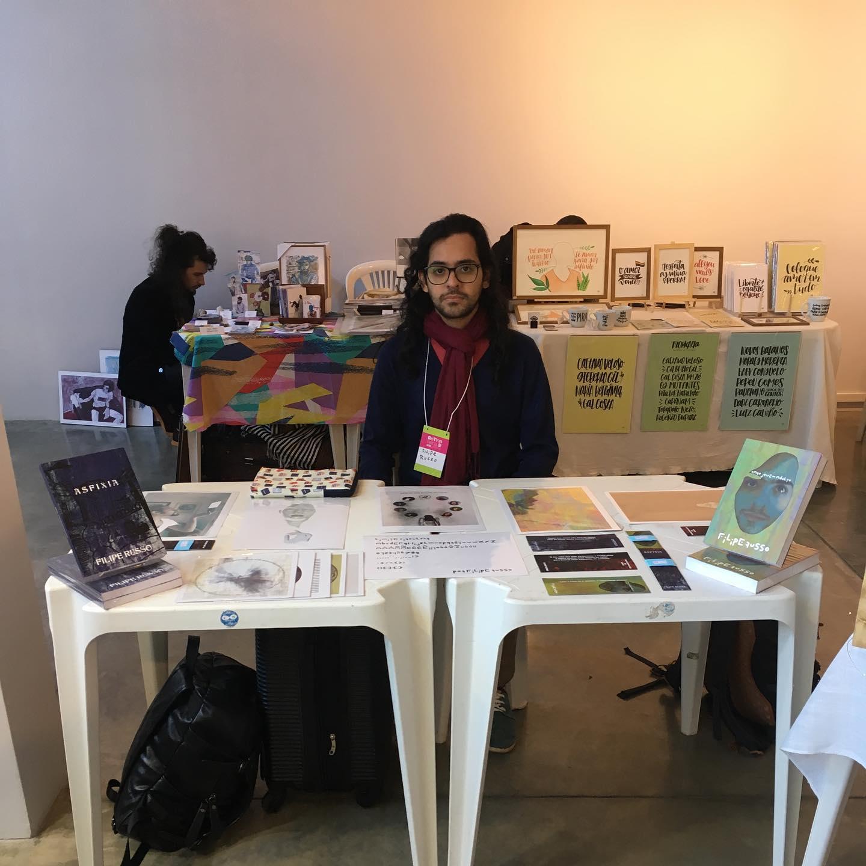 Na Feira Retina no Instituto Internacional Juarez Machado em Joinville (2019)