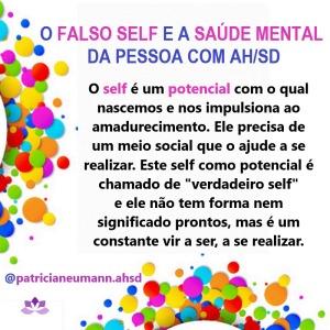 O Falso Self e a Saúde Mental da Pessoa com AH/SD (1/10)